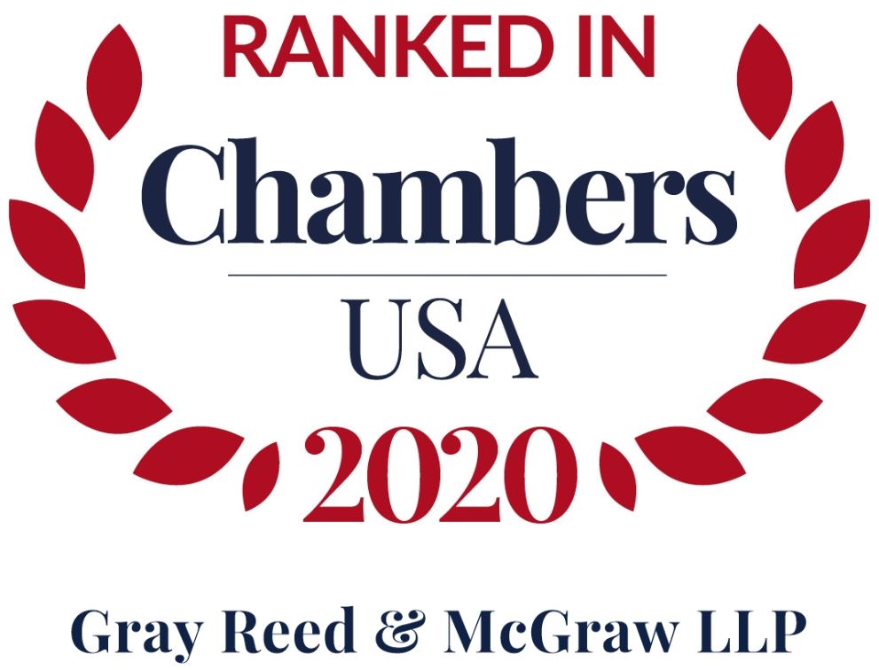 Gray Reed Recognized in the Chambers USA 2020 Legal Directory