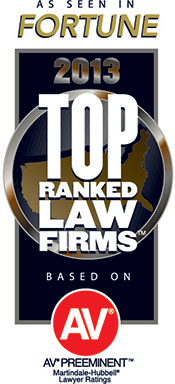 Fortune Magazine Top Ranked Law Firm