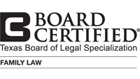 Board Certified - Family Law - Texas Board of Legal Specialization
